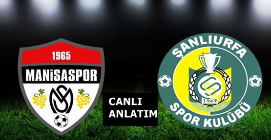 Manisaspor 2-0 Şanlıurfaspor