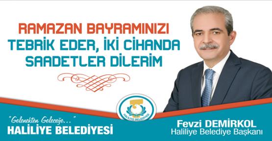 Başkan Demirkol'un Ramazan Bayramı Mesajı
