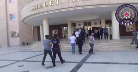 Şanlıurfa'da operasyon, 8 tutuklama