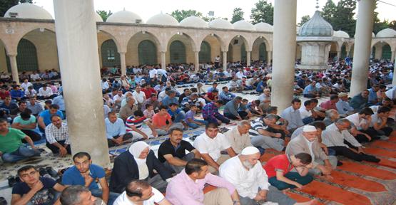 Şanlıurfa için Ramazan Bayramı namaz saati