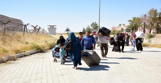 5 Günde Yaklaşık 12 Bin Suriyeli Ülkesine Geçiş Yaptı