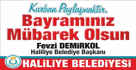 Başkan Demirkol'un Kurban Bayramı Mesajı