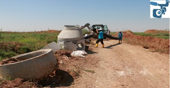 ŞUSKİ Harran'da Alt Yapı Sorunlarına Çözüm Buluyor