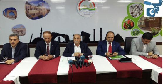 Bakan Fakıbaba, Başbakan'ın Şanlıurfa Programını Açıkladı