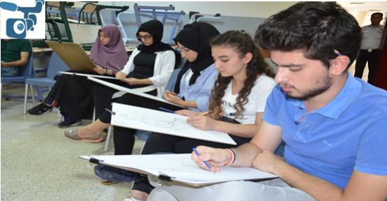 Harran Üniversitesinde Özel Yetenek Sınavları Başladı.