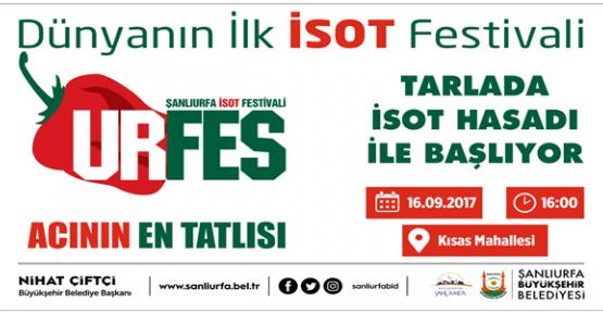 İSOT Festivali İSOT Hasadıyla Başlıyor