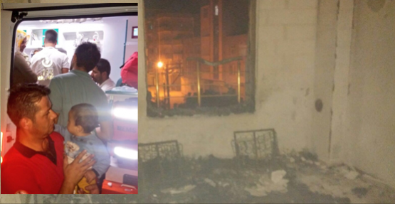 Urfa'da Mesken Yangınında Mahsur Kalan Çocuk Kurtarıldı