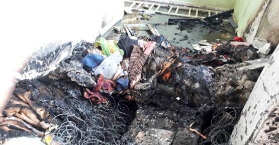 Urfa'da Mahsur Kalan 2 Çocuk Ve Güvercinler Kurtarıldı