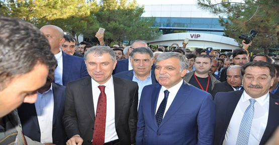 11. Cumhurbaşkanı Abdullah Gül Urfa'ya geldi