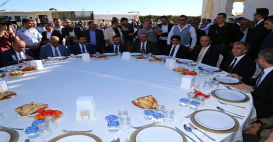 Abdullah Gül Hilvan'da