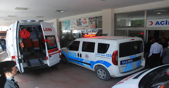 Urfa'da hareket halindeki otomobile ateş açıldı