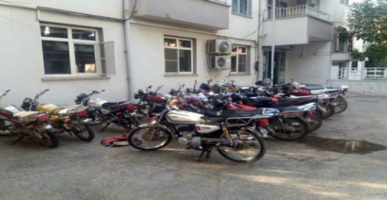 Urfa'da çalıntı motosiklet bulundu
