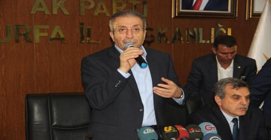 AK Parti Genel Başkan Yardımcısı Mehdi Eker Şanlıurfa'da