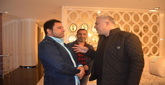 Benhur'dan Saraçoğlu'na Ziyaret