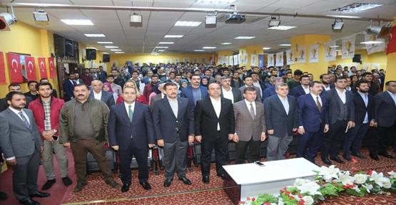 Karaköprü AK Parti ilçe kongresi yapıldı