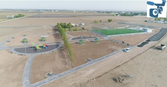 Suruç'ta 4 park aynı anda yapımı sürüyor