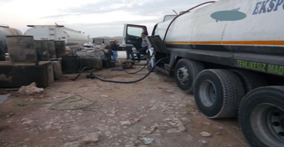 Urfa'da 6 ton Kaçak Akaryakıt Ele Geçirildi