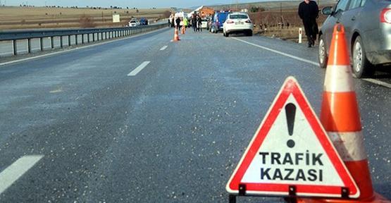 Urfa'da düğün dönüşü kaza, 9 yaralı