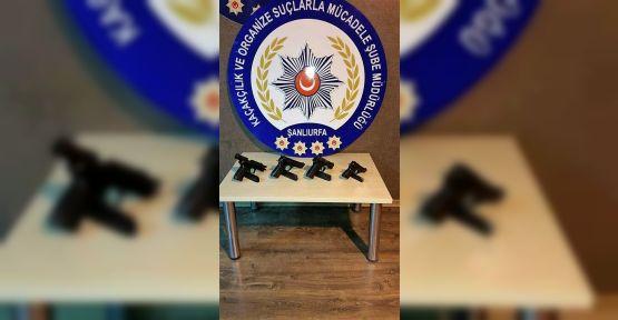 Urfa'da silah operasyonu
