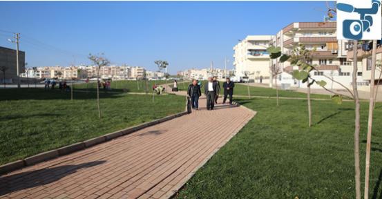 Başkan Demirkol, Devteşti'nde Park Ve Yol Çalışmalarını İnceledi