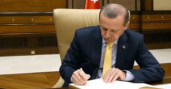 Cumhurbaşkanı İmzaladı Yürürlüğe Girdi