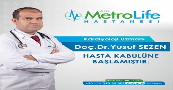 Doç.Dr.Yusuf Sezen Hasta Kabulüne Başladı