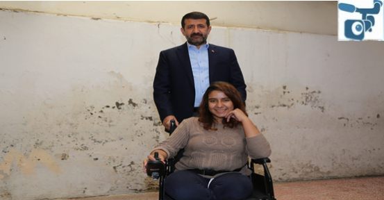 Ekinci'den Akülü Tekerlekli Sandalye Hediyesi