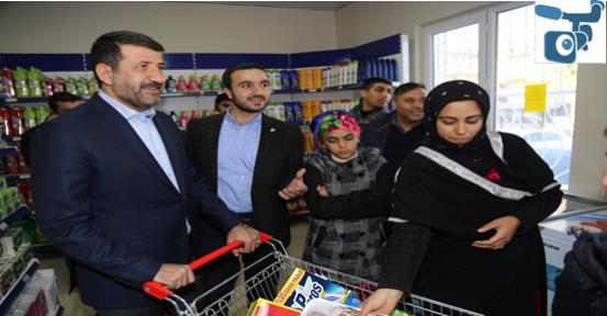 Eyyübiye'deki Market Sadece Muhtaçlara Yardım Yapacak