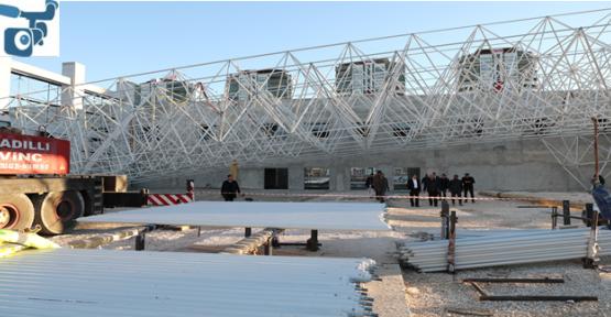Fuar merkezi inşaatı devam ediyor
