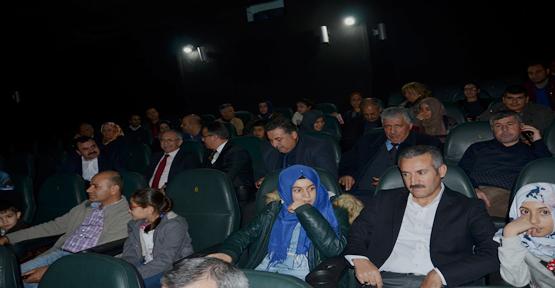 İl Milli Eğitim Müdürlüğü Çalışanları 'Ayla' Filminde buluştu