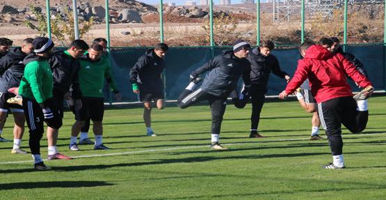 Şanlıurfaspor'da Zonguldak hazırlıkları sürüyor