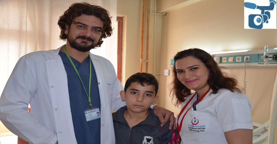 Urfa'da ilk kez kapalı olarak ameliyat yapıldı