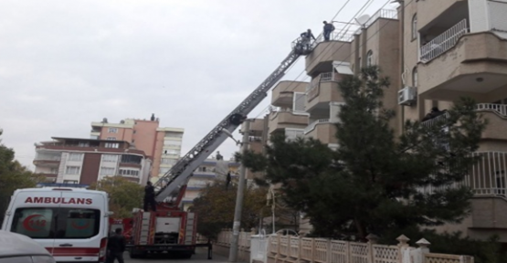 Urfa'da intihar girişimi