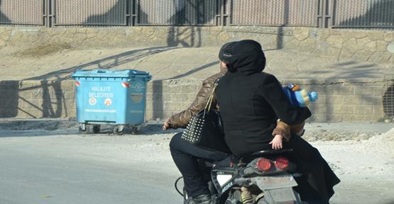 Urfa'da tehlikeli yolculuk!
