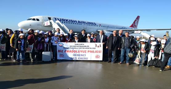 Urfalı Öğrencilere İstanbul ve Trabzon Turu
