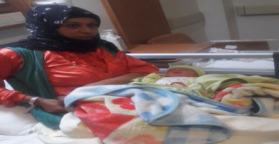 Şanlıurfa'da Yılın İlk Bebeği