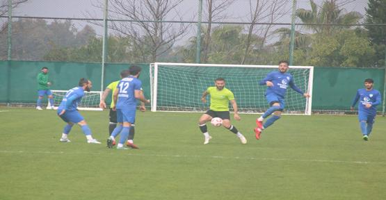 Şanlıurfaspor hazırlık maçı yaptı