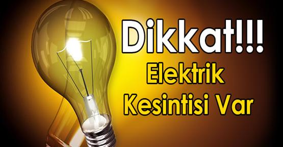 Urfa'da Üç İlçede Elektrikler Kesilecek