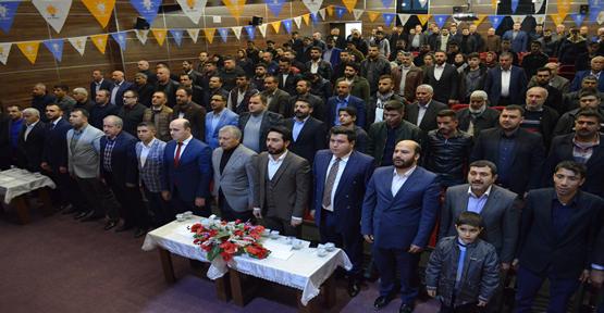 AK Parti Birecik  Gençlik Kolları Kongresi Yapıldı