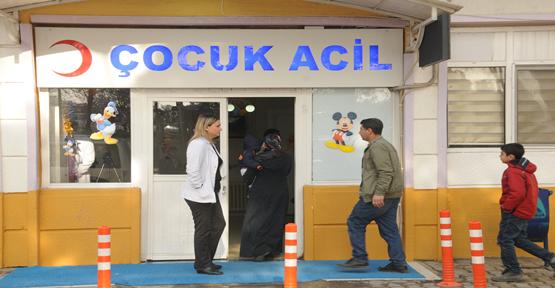 Balıklıgöl Hastanesinde 'Çocuk Acil' Açıldı