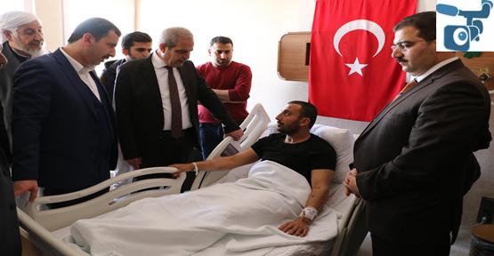 Başkan Demirkol'dan Afrin Gazisi Tokmak'a Ziyaret