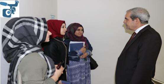 Demirkol, Üniversite Hazırlanan Öğrencileri Ziyaret Etti