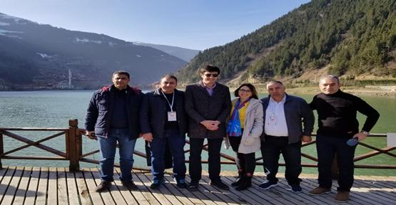Urfalı Basın Mensupları Trabzon Ve Rize'yi Gezdi