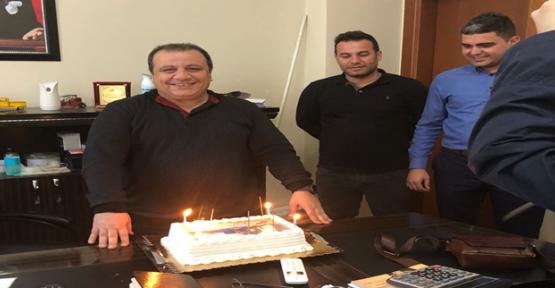 Başhekim Karakucak'a Sürpriz Doğum Günü