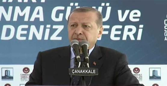 Cumhurbaşkanı Erdoğan, Terör Koridoru 4 Noktadan Kırıldı