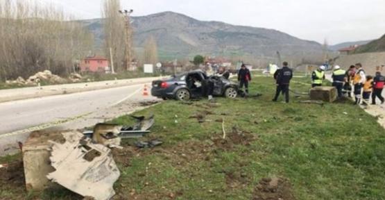 Fakıbaba'nın koruma polisleri kaza yaptı: 3 yaralı