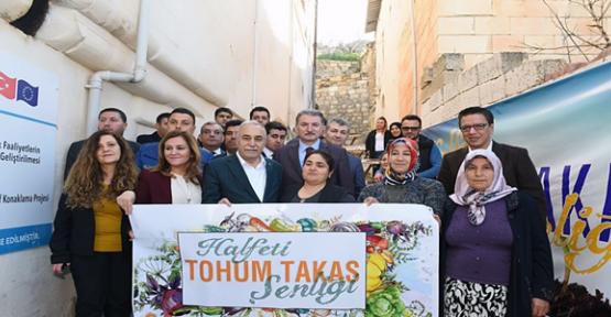 Fakıbaba, ''Tohum Takas Şenliği''ne Katıldı
