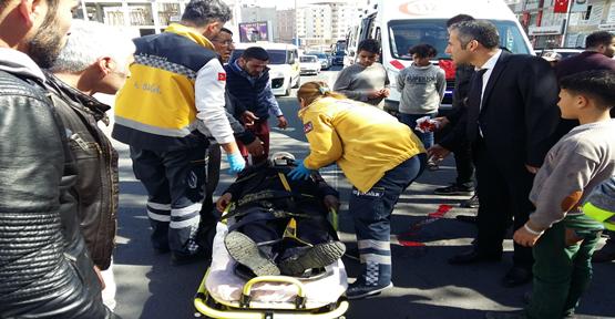 Urfa'da Namazdan Çıkan Yaşlı Adamı Otomobil Çarptı