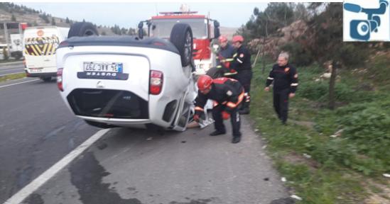 Urfa'da iki otomobil çarpıştı, 5 yaralı