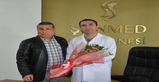 Yıldırım'dan Şanmed hastanesine ziyaret